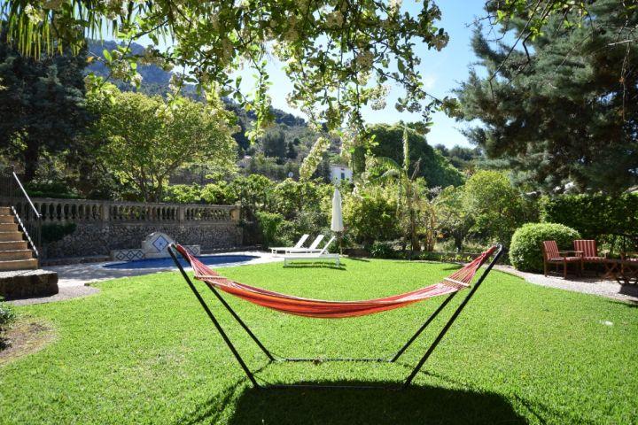 sch nes und gut ausgestattetes haus mit garten und pool in s ller etv 6164 mallorca dream homes. Black Bedroom Furniture Sets. Home Design Ideas