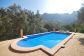 Geräumige Villa mit Pool in unmittelbarer Meeresnähe in Cala Tuent